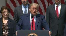 Trump: il piano contro razzismo? Avere più forte economia al mondo