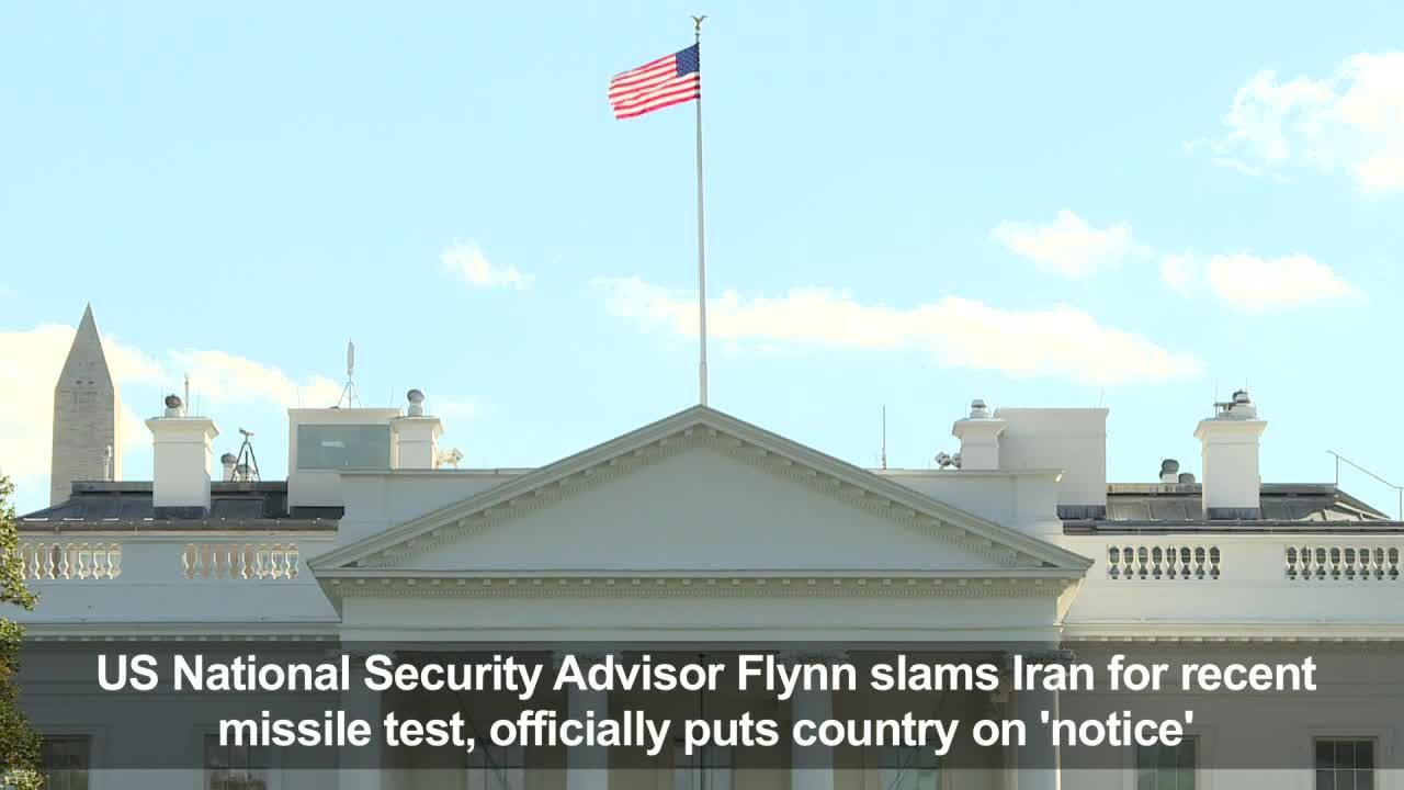 US National Security Advisor Flynn slams Iran [Video]