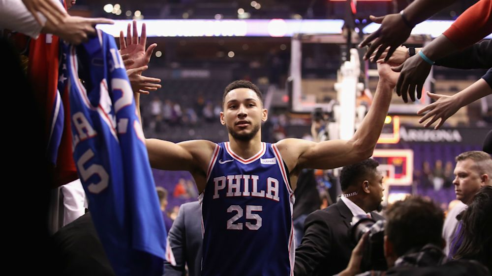 Ben Simmons: 'I know I'm the best rookie' in the NBA