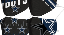 Dallas Cowboys face coverings are half off during this holiday flash sale at Fanatics