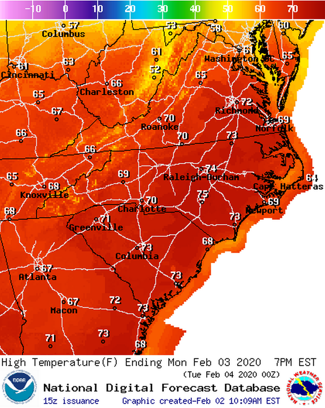 Spring in February? Unusually warm weather forecast for the Carolinas this week