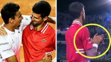 'This is sport': Novak Djokovic's 'class' moment with vanquished rival