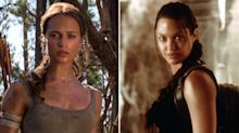 Angelina Jolie takes kids to new 'Tomb Raider' reboot