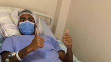 Atacante Kaio passa por cirurgia na perna direita