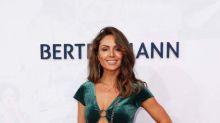 Nazan Eckes: Glamourös in grünem Samt