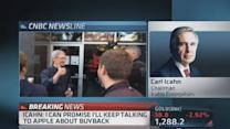 'We have a lot of options': Icahn on Apple