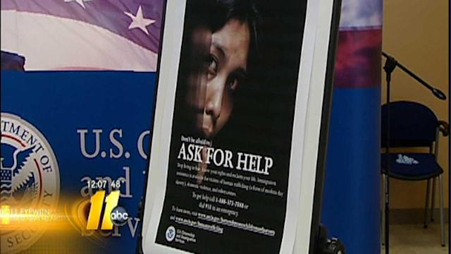 Officials offering visas to help victims