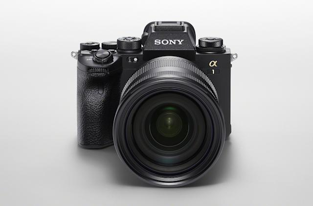 Sony's A1 is a $6,500 50MP camera that shoots 30fps bursts and 8K video