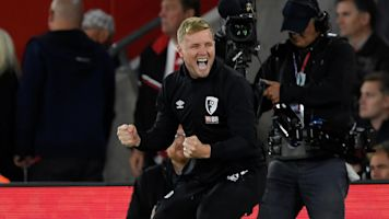 Howe joy at 'historic' night for Bournemouth