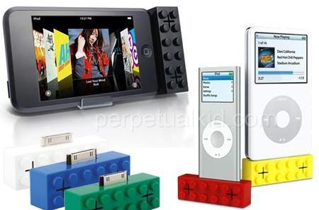 iPod building block speakers keep your dock connector company