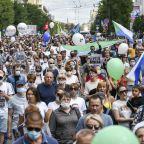 New protests held against arrest of popular Russian governor