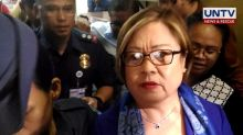 De Lima's camp to use dismissal of drug charges vs. Espinosa, Lim in own case