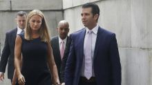 Donald Trump Jr. and Vanessa reunite for divorce court amid report of his quickie engagement to Kimberly Guilfoyle