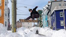 Newfoundland's Snowstorm Didn't Stop Locals From Getting Around
