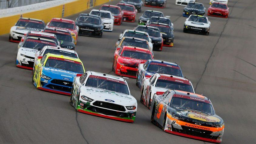 Las Vegas Xfinity results, driver points