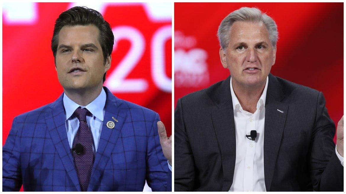 The Matt Gaetz Problem That GOP Leader Kevin McCarthy Wishes Would Just Go Away