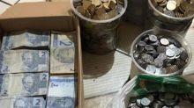 Casal junta R$ 10 mil em moedas e notas de R$ 2 para comprar casa própria