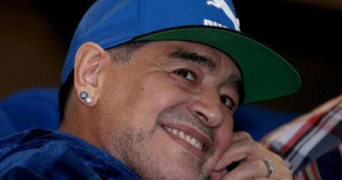Foot - ITA - Naples - Diego Maradona propose ses services au Napoli en cas de départ de Maurizio Sarri