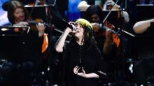Billie Eilish and Hans Zimmer debut James Bond theme song with stunning Brit Awards performance