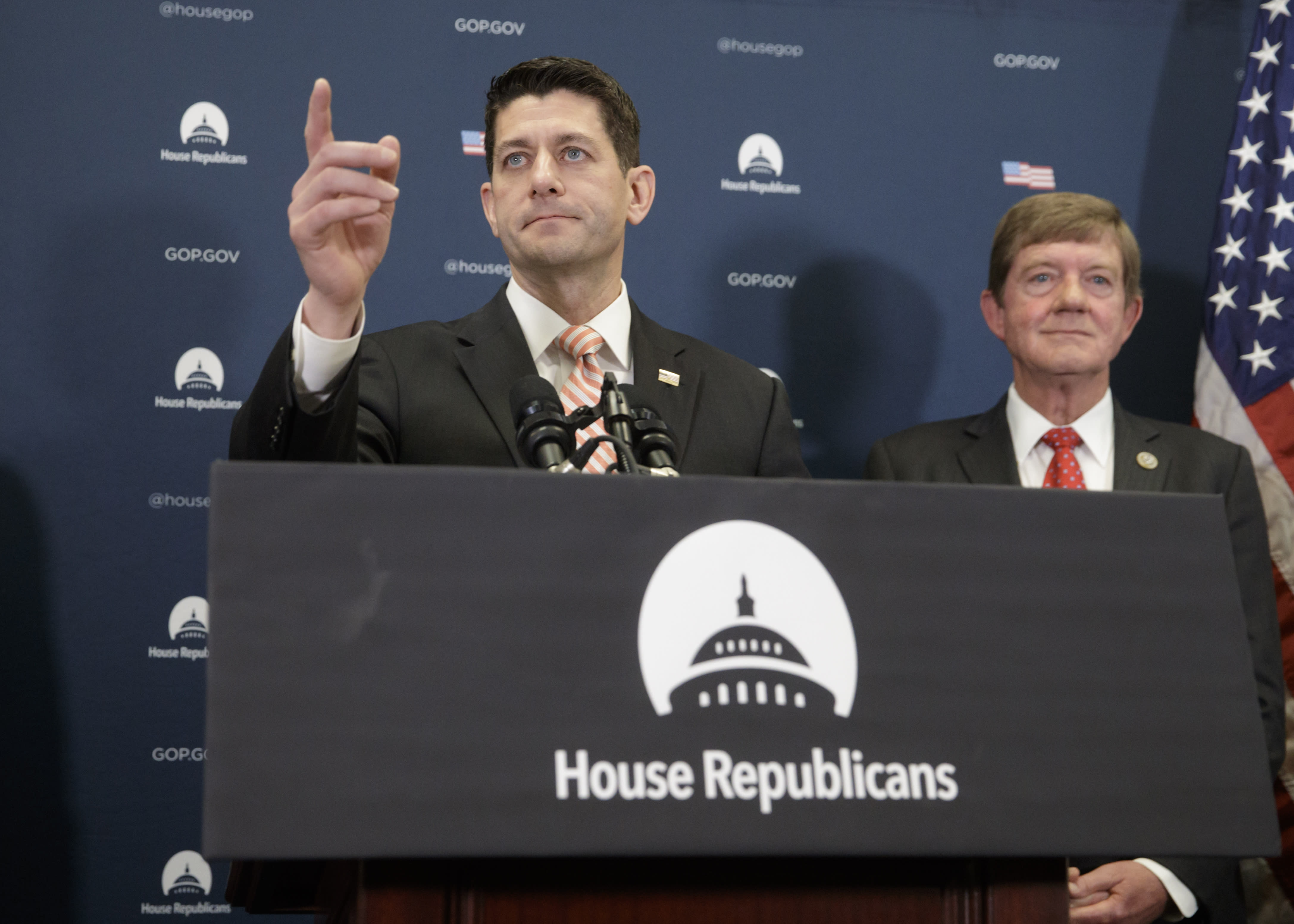 Congressional Republicans move to dismantle Obama rules