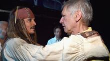 Jack Sparrow Greets Han Solo in Historic Meeting of Disney Heroes at D23