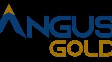 Angus Gold Announces Management Change