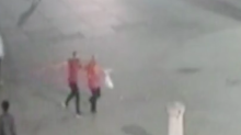 Shocking CCTV of two 'cowards' carrying out fatal attack on man in Trafalgar Square