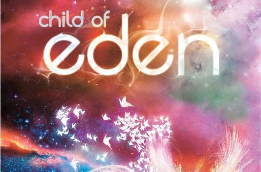 Child of Eden GameStop pre-order padded with poster