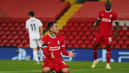Misfiring Liverpool exit Champions League