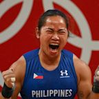 Weightlifter Hidilyn Diaz wins first-ever gold for Philippines, ending 97-year drought
