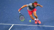Coric comeback sends Tsitsipas tumbling out of US Open