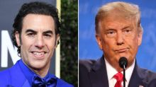 'A racist buffoon': Borat actor Sacha Baron Cohen hits back after Donald Trump calls him 'creepy'