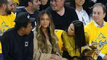 Beyoncé's icy reaction to a woman talking over her to Jay-Z has Twitter fired up