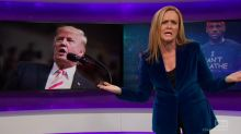 Samantha Bee blasts Trump for ignoring Puerto Rico and focusing on NFL
