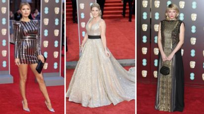 BAFTAs 2018: Who wore black - and who didn't?