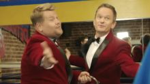 James Corden And Neil Patrick Harris Make Singing Telegrams Cool Again