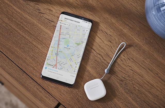 Samsung's LTE tracker locates lost items wherever they are