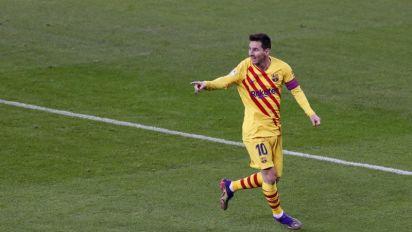 Messi al frente de todos los goleadores de Sudamérica en competiciones UEFA