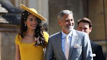 Amal Clooney named best dressed by the internet at the royal wedding