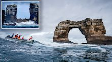 World-famous Darwin's Arch collapses into ocean off Galapagos Islands