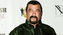 Steven Seagal storms out of live interview after being asked about #MeToo misconduct allegations