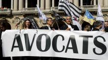 Plusieurs milliers d'avocats à Paris contre la réforme des retraites