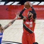 Lillard leads rested Trail Blazers past Knicks 116-113