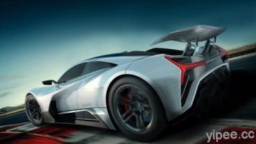 超狂 Elation Hypercars FREEDOM 電動超跑,四具電動馬達馬力輸出達 1900HP