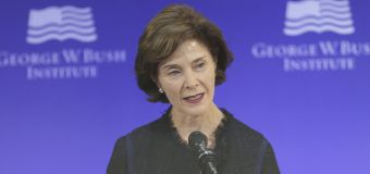 Laura Bush speaks out against family separations