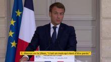 """Liban : Emmanuel Macron condamne une """"trahison collective"""" de la classe politique du pays, après l'échec de la formation d'un gouvernement"""
