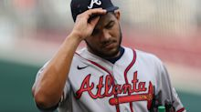 Braves pitcher Huascar Ynoa out several months after punching dugout bench, breaking hand