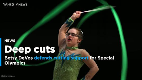 Special Education Chiefs To Devos Dont >> Betsy Devos Under Fire Over Special Olympics Budget Cuts