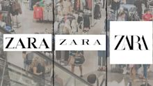 Zara's new logo isn't a hit with shoppers: 'You forgot the spaces'