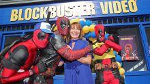 Deadpool enlists Lorraine Kelly to open new Blockbuster Video